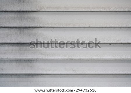Texture iron gray container for any background - stock photo
