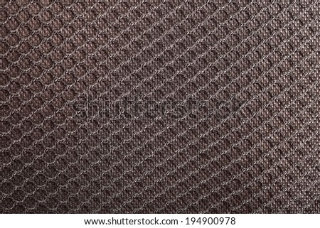 Texture macro black material background - stock photo
