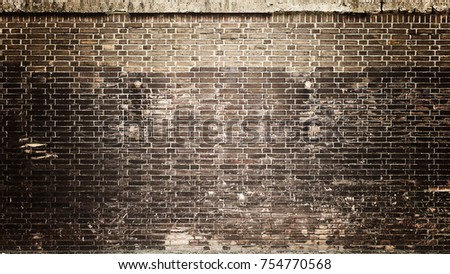 Texture of a brick wall