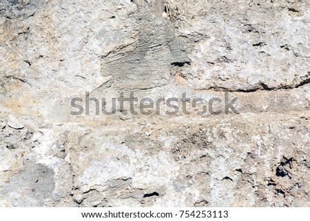 Texture of a cement wall. structure of the cave stone. toned