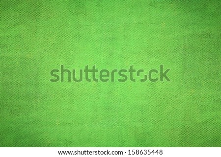 Texture of a surface the painted green paint - stock photo