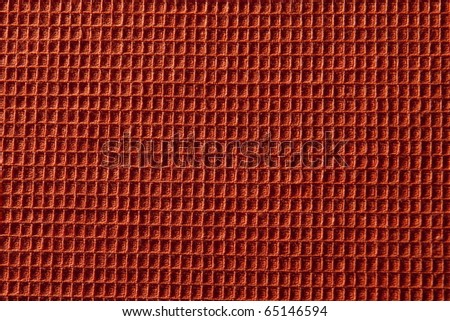 Texture of a wafer towel
