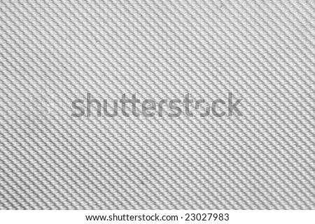 Texture of a White Plastic Pattern - stock photo