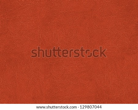 Texture of an imitation leather. Red - stock photo