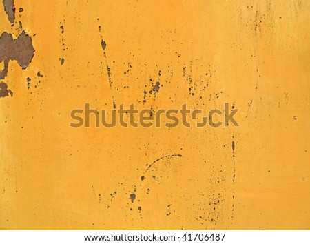 Texture of an metal surface with cracked paint - stock photo