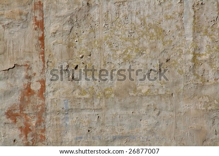 texture of an old weathered wall, artistic background - stock photo