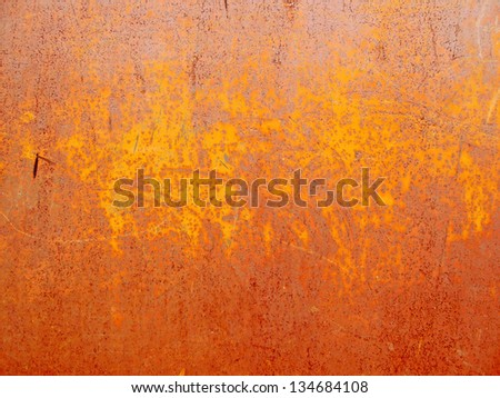 Texture of an rusty metal - stock photo