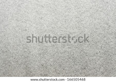 Texture of artificial silvery hoarfrost and ice - stock photo
