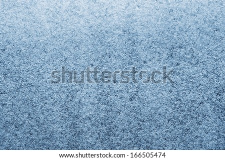 Texture of artificial synthetic hoarfrost and ice - stock photo