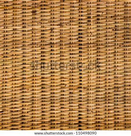 Texture of bamboo weave - stock photo