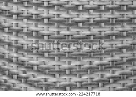 texture of basket - stock photo