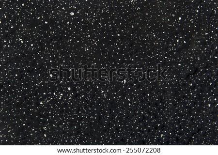 Texture of black caviar  - stock photo