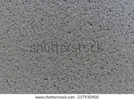 Texture of black sponge - stock photo