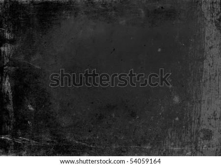 Texture of Blank chalkboard. - stock photo