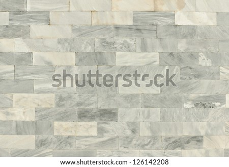Texture of block marble background in temple thai ,thailand - stock photo