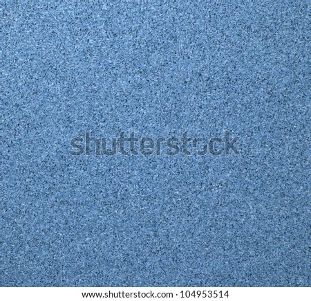Texture of blue cork board - stock photo