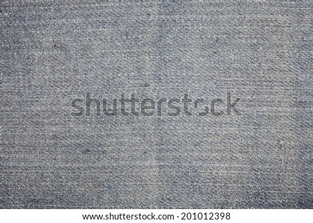 Texture of blue jeans background