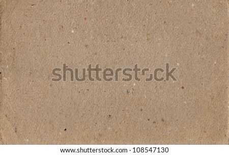 Texture of brown dense cardboard for a background