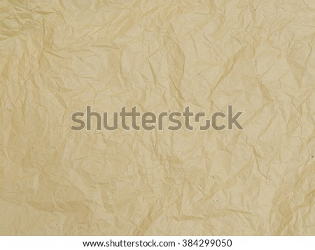 Texture of brown paper sheet.
