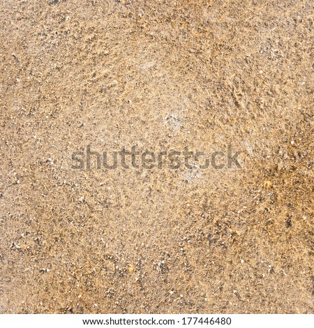 Texture of brown sand.  - stock photo