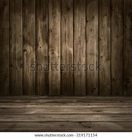 Texture of brown wood. - stock photo