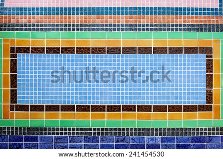 Texture of ceramic wall. - stock photo
