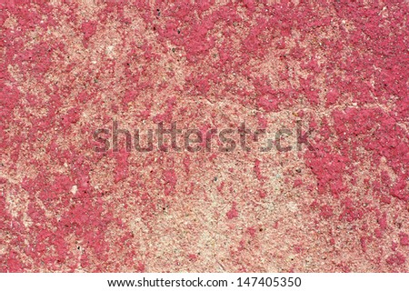 Texture of chipped plaster of old house. - stock photo