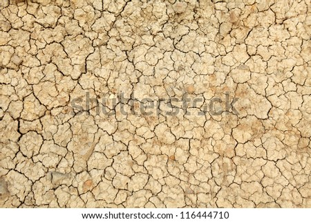 Texture of clay, background - stock photo