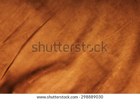 Texture of colored crumpled leather - stock photo