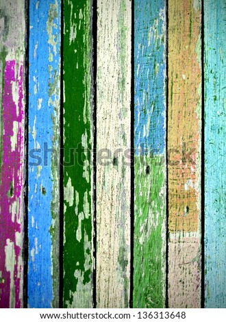 texture of colored grunge wood for Background - stock photo