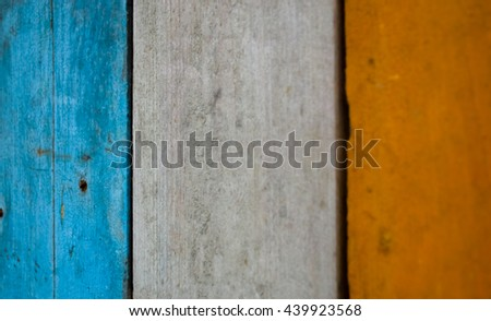 texture of colored grunge wood for Background.