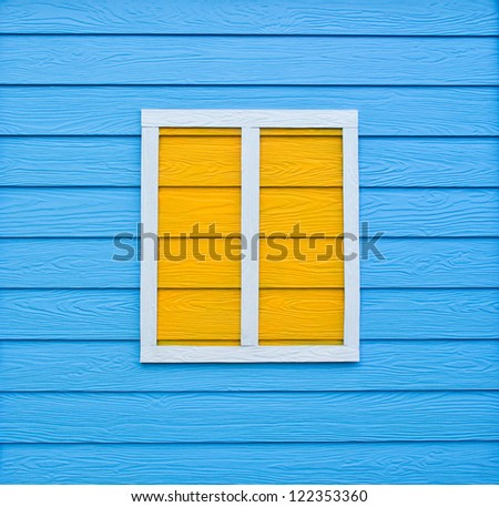 Texture of colorful wooden wall