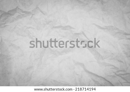 Texture of crumpled wrinkle  paper background  - stock photo