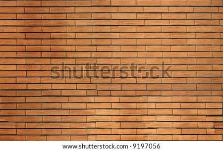 texture of decorative bricks - stock photo