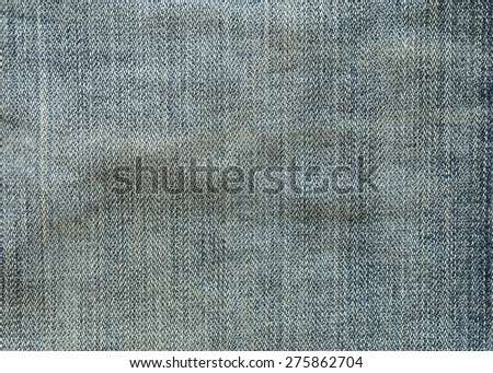 texture of denim jeans textile background - stock photo