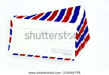 Texture of envelope