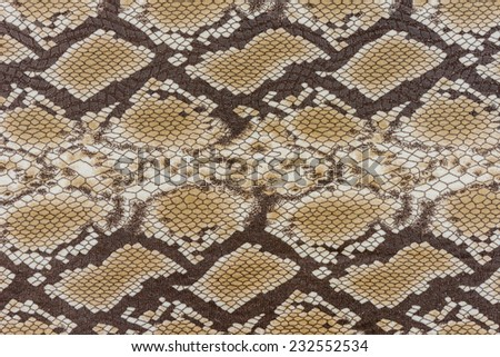 texture of fabric stripes snake leather for background - stock photo