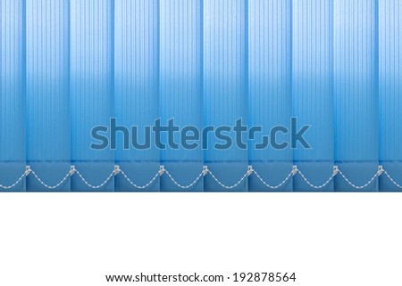 Texture of fabric vertical blinds. - stock photo