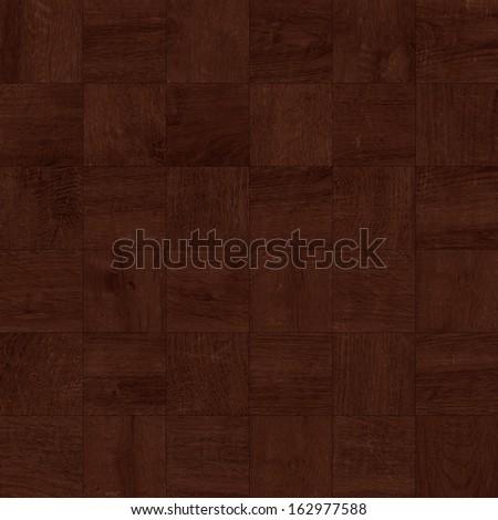 Texture of fine dark brown parquet (High.Res.) - stock photo