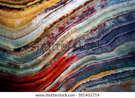 Texture of gem stone onyx, macro shot background