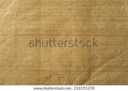 texture of golden foil - stock photo