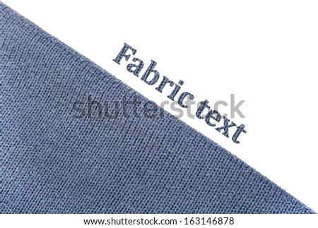 texture of gray-blue cloth background thread