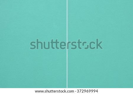 Texture of green wooden table,equipment for table tennis sport - stock photo