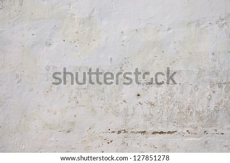Texture of grey exposed concrete wall. - stock photo
