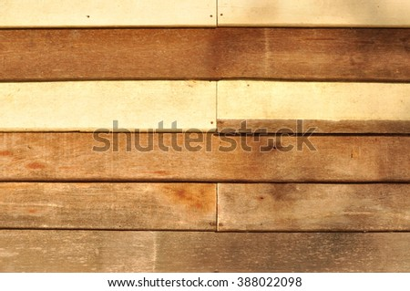 Texture of grunge wooden wall - stock photo