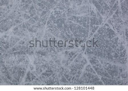 Texture of ice. - stock photo