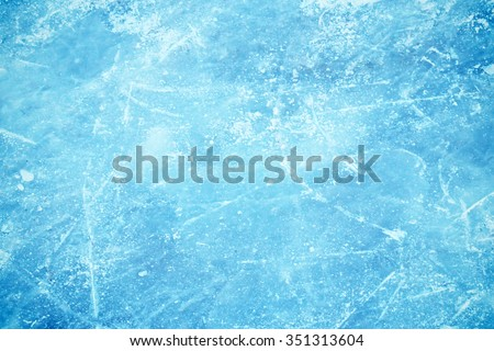 Texture of ice surface  - stock photo