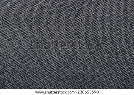 Texture of jeans with the bound pattern. - stock photo