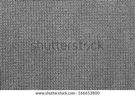Texture of knitted woolen fabric for wallpaper and an abstract background - stock photo