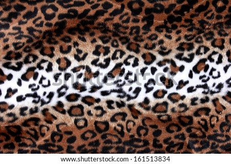 Texture of leopard skin ready to use for your design - stock photo